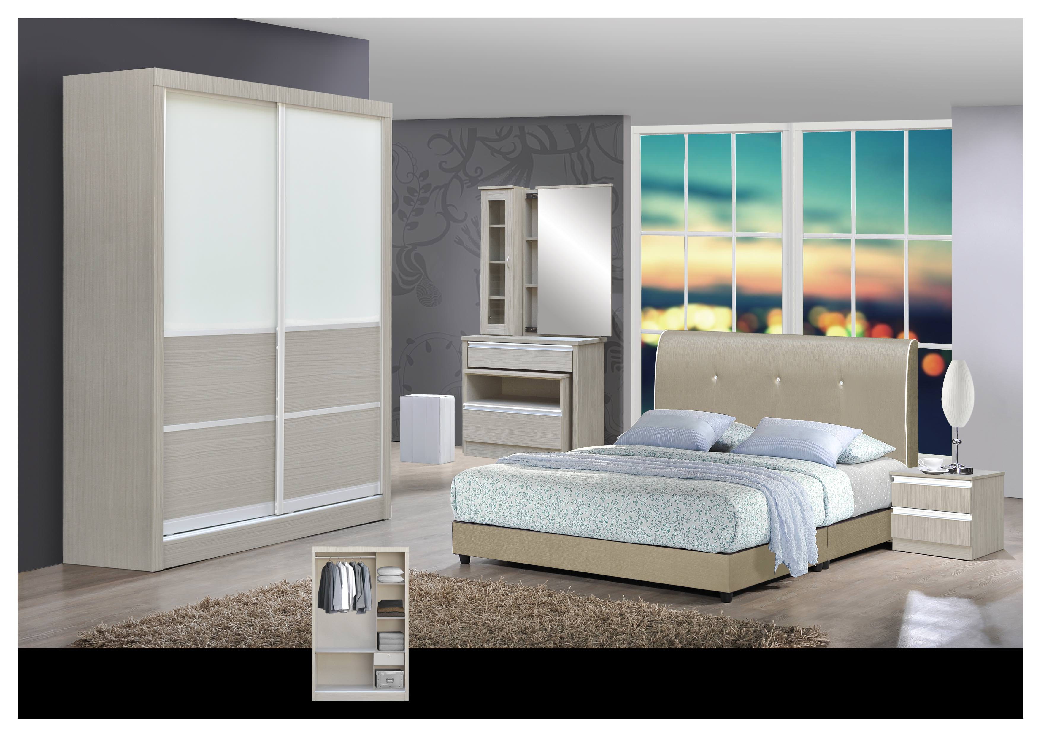 Sliding Wardrobe With Dressing Table