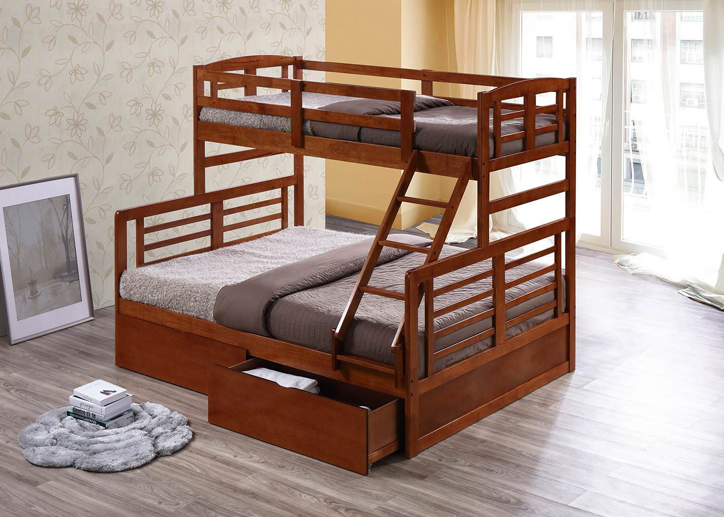 Bunk Bed with Storage & Bunk Bed | Singer Malaysia
