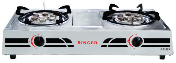 Double Burner Jet Gas Stove
